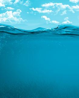 Heaven and underwater sea.