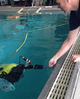 SAAB Sea Wasp Charleston training